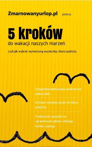 """Ebook """"5 kroków do wakacji naszych marzeń"""""""